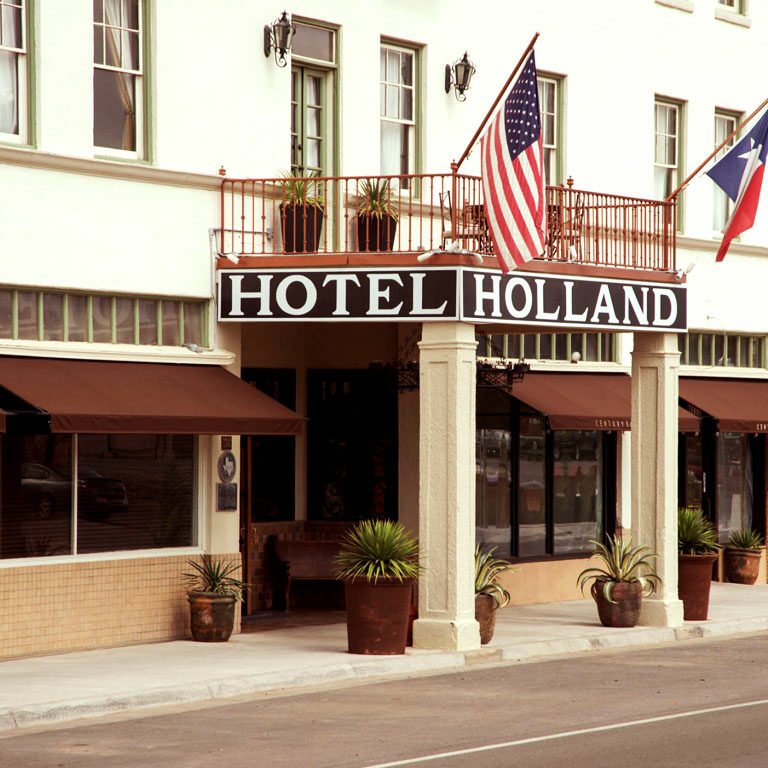 The Holland Hotel Exterior of Clearview Investment Management