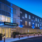 Hotel Zero Degrees Norwalk Exterior of Clearview Investment